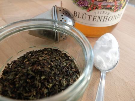 Tee, Natron & Honig