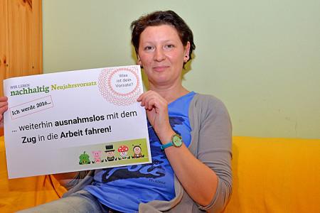 Samira – ökologische Putzmittelspezialistin, eNu