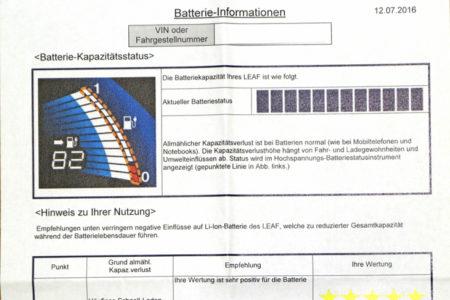 Foto: Batterie 3 Jahres-Service: Batteriezustand