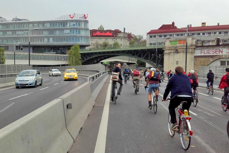 Foto: Radfahren ist Kult, © G. Franz, eNu