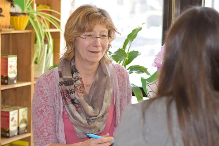Interview mit Elisabeth Koppensteiner, MSc; © S. Strobelberger, GARTENleben