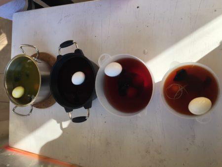 unsere vier Naturfarben
