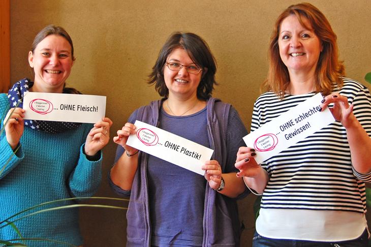 3 Bloggerinnen - 2 Wochen - 1 Aufgabe