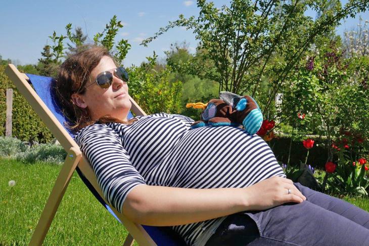 Foto: Entspannen am Liegestuhl, © Steininger
