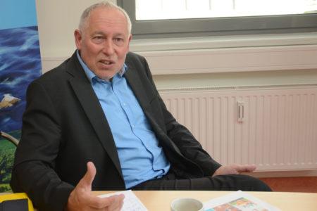 Foto: Interview mit Dr. Willi Novak, VCÖ, © eNu