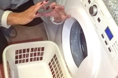 Foto: Meine Waschmaschine und ich, © Ch. Ruspeckhofer, eNu