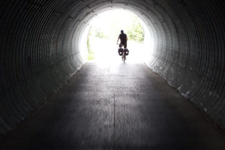 Foto: Licht am Ende des Tunnels, © G. Franz