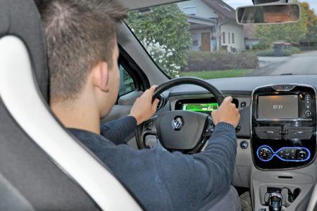 Foto: Innenraum e-Auto, © S. Deinhofer