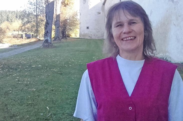 Interview mit Frau Wagner, Reinigungskraft an der LFS Ottenschlag
