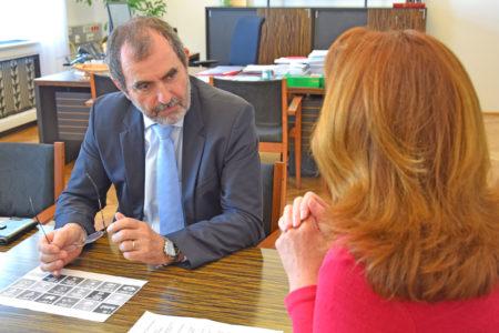 Foto: Interview mit DI Josef Plank, BMNT-Generalsekretär, © D. Capano