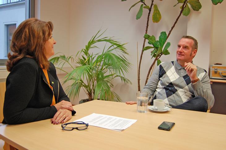 Foto: Interview mit dem NÖ Umweltanwalt, Mag. Thomas Hansmann, © eNu