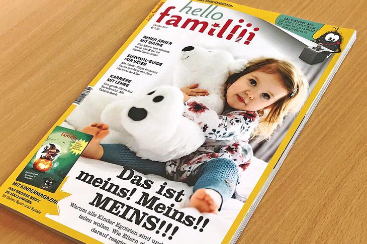 Cover Familienmagazin familiii