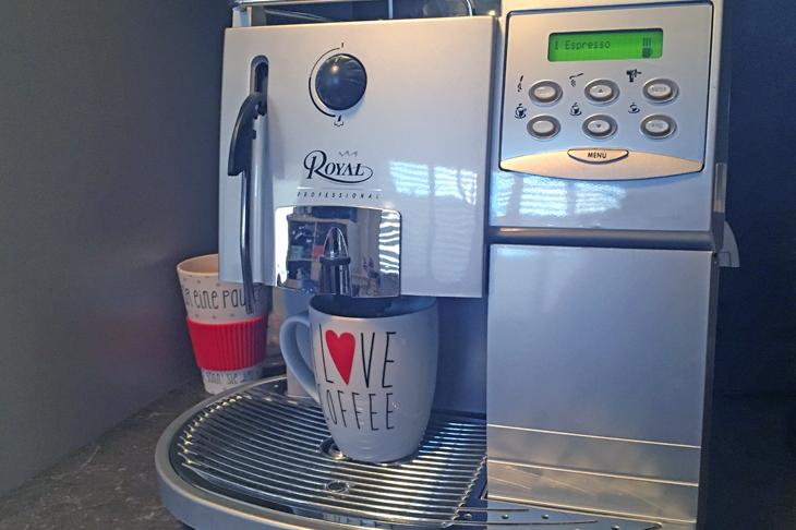 Foto: Kaffeevollautomat, © N. Lederer