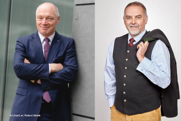 Nachgefragt bei: Mag. Helmut Miernicki, ecoplus und Dr. Christian Milota, eNu; Foto: © Linse2.at; Roland Molcik