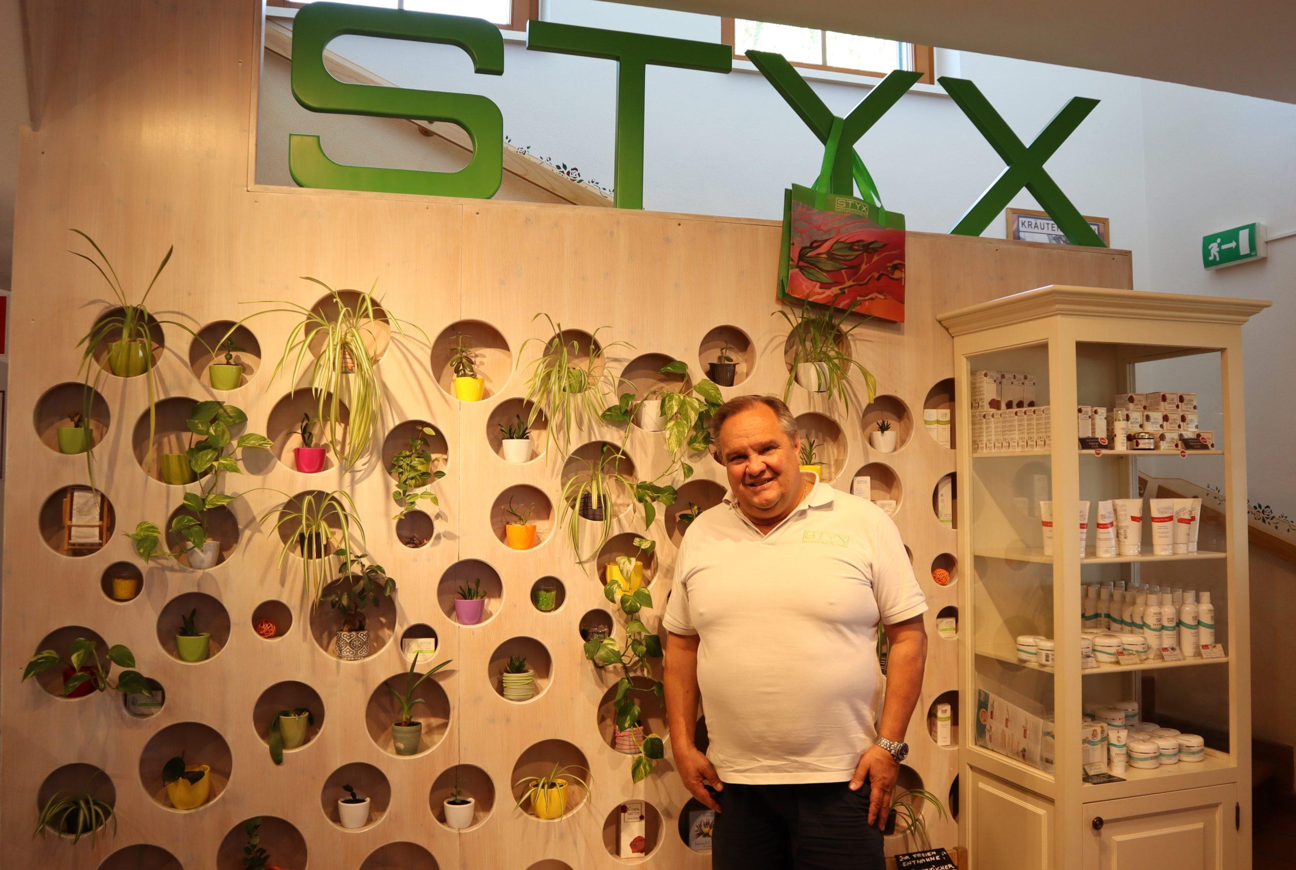 Wolfgang Stix, Geschäftsführer von STYX Naturcosmetics im Interview