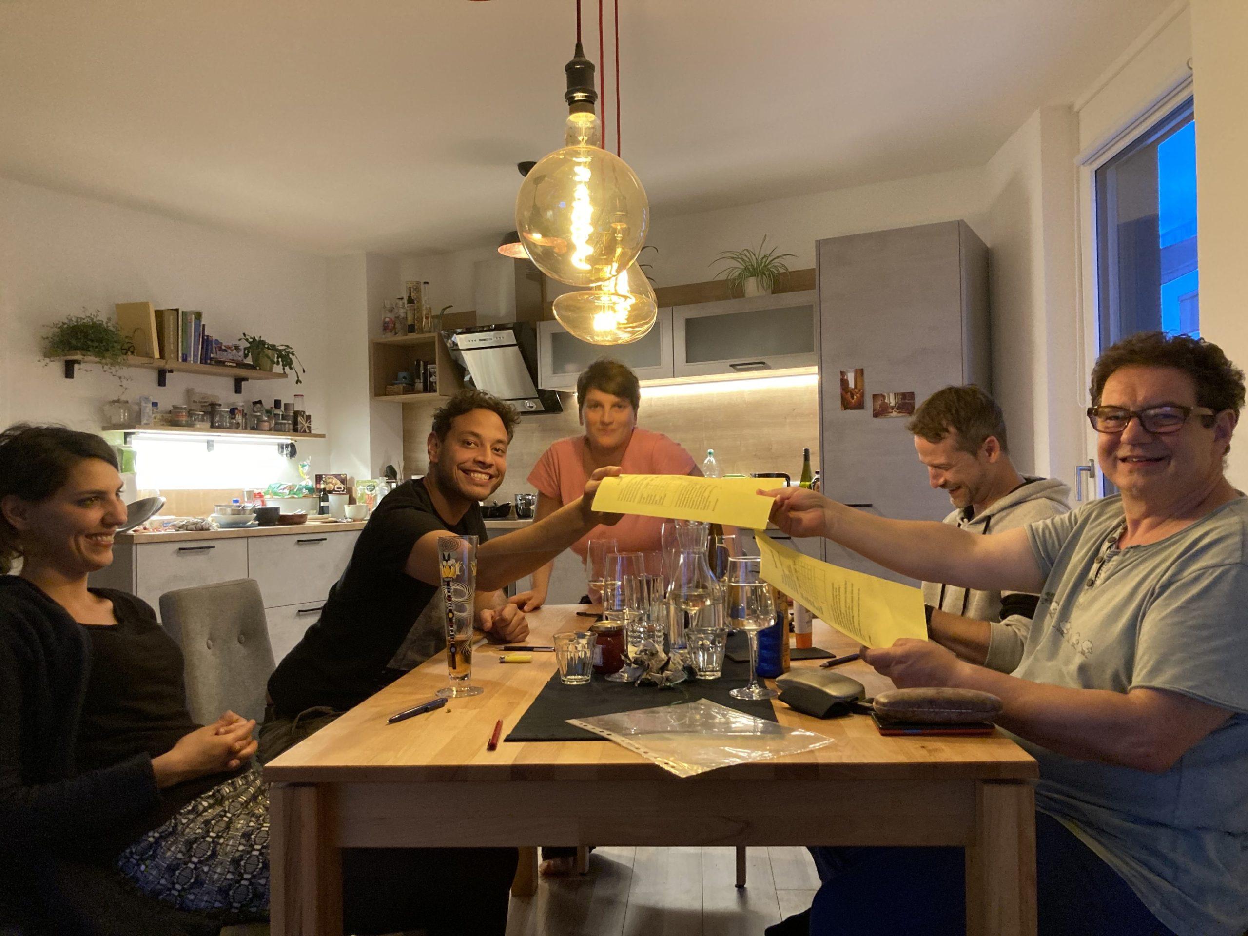 Sonnencremen Test-Party bei dem wir-leben-nachhaltig Blogger Christian zuhause.