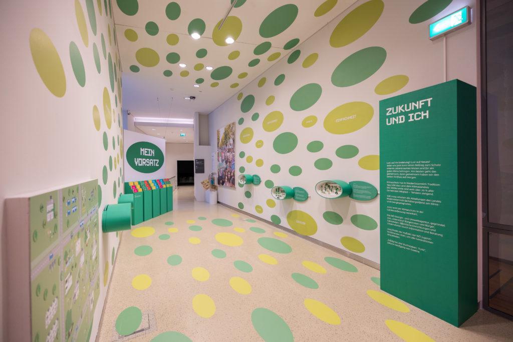 Positiver Ausblick Zukunft & Ich als letzte Station der Ausstellung Klima und Ich im Museum NÖ