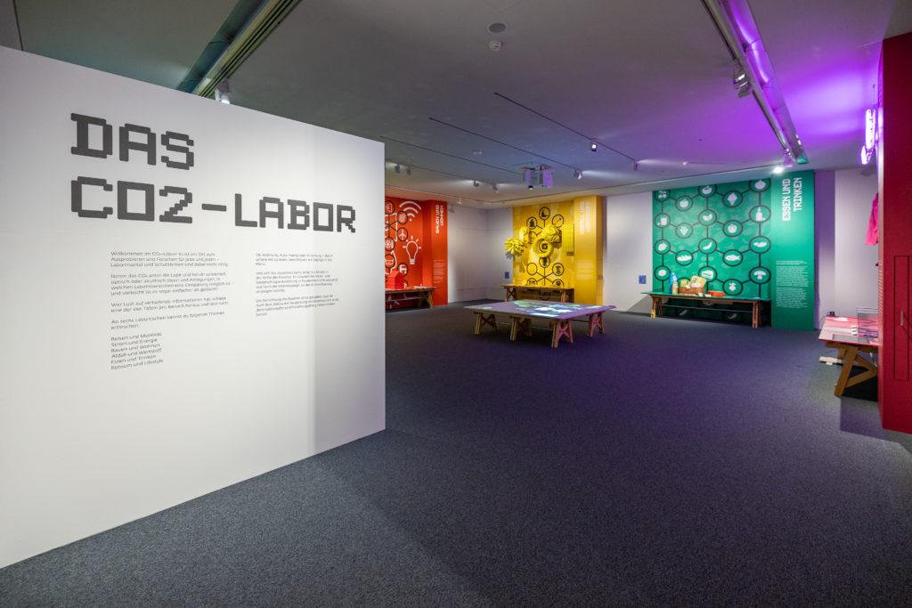 Das CO2 - Labor in der Ausstellung Klima & Ich im Museum NÖ