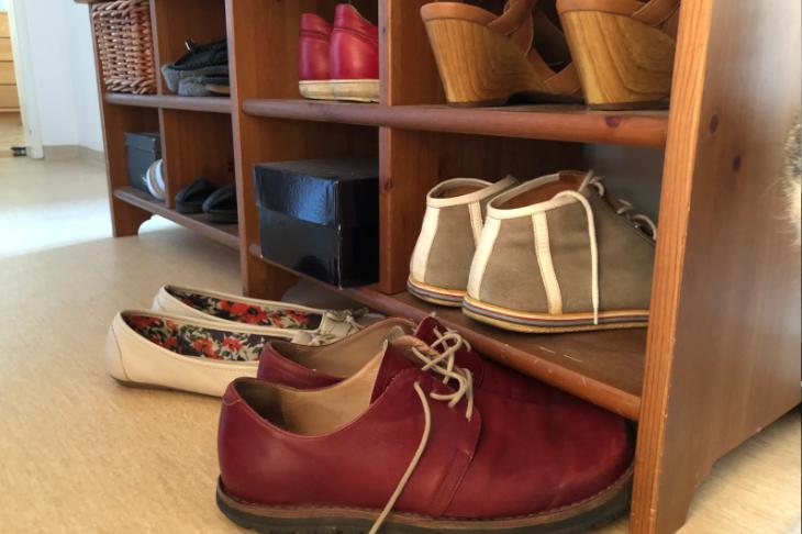 Auch bei den Schuhen gilt: Weniger ist mehr!