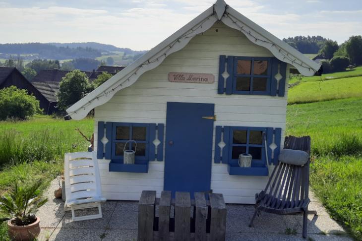 Ein nachhaltiges Spielhaus für meine Tochter, © Petra Nemec - eNu