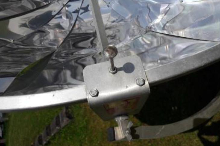 Solarkocher richtig aussrichten, © E. Grabner