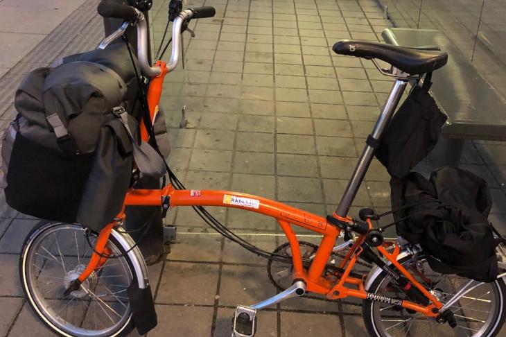 Mit dem Faltrad auf Reisen, © G. Franz