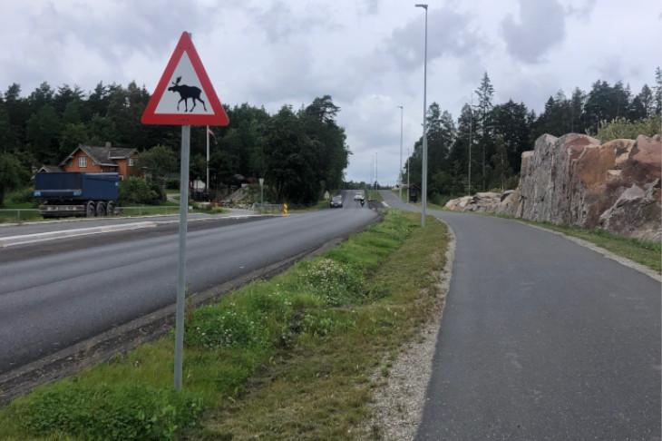 Radweg in Norwegen, © G. Franz